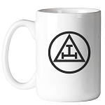 Royal Arch Triple Tau Circle 11 oz. Coffee Mug