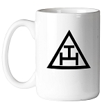 Royal Arch Triple Tau Triangle 11 oz. Coffee Mug