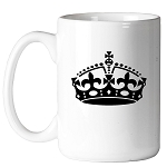 York Rite Crown 11 oz. Coffee Mug