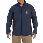 Prince Hall 1787 Embroidered Masonic Men's Soft Shell Jacket
