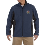 Knights Templar Embroidered Masonic Men's Soft Shell Jacket