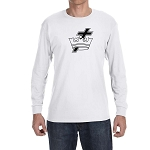 Knights Templar Cross and Crown Long Sleeve T-Shirt