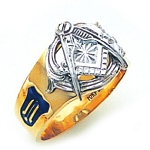 Blue Lodge Ring GLC551BL