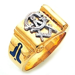 Blue Lodge Ring GLC560BL
