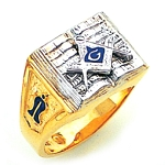 Blue Lodge Ring GLC603BL