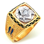 Blue Lodge Ring GLC720DBL