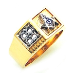Blue Lodge Ring GLC764BL