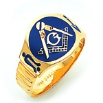 Blue Lodge Ring GLC792000BL