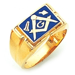 Blue Lodge Ring GLC900BL