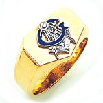 Blue Lodge Ring GLC988BL