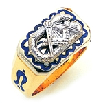 Blue Lodge Ring GLC992BL