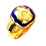 Blue Lodge Ring HOM671BL