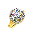 Order of the Eastern Star Ring GLC211ES
