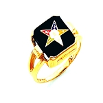 Order of the Eastern Star Ring HOM281ES