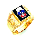 Odd Fellows Ring HOM291OF