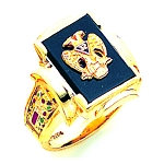 Scottish Rite Ring GLC1126SR