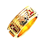 Shriner Ring HOM605
