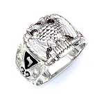 Sterling Silver Scottish Rite Ring MASCJ1035SR
