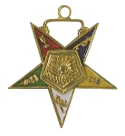 Order of the Eastern Star Associate Matron Officer Jewel - 1 1/2