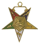 Order of the Eastern Star Conductress Officer Jewel - 1 1/2