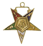 Order of the Eastern Star Organist Officer Jewel - 1 1/2