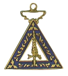 Order of the Eastern Star Adah Officer Jewel - 1 1/2