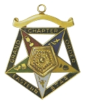Order of the Eastern Star Grand Chapter Associate Matron Officer Jewel RES-57