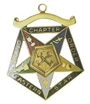 Order of the Eastern Star Grand Chapter Treasurer Officer Jewel RES-58