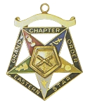 Order of the Eastern Star Grand Chapter Marshal Officer Jewel RES-61