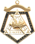 Order of the Eastern Star Grand Chapter Esther Officer Jewel RES-68