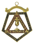 Order of the Eastern Star Grand Chapter Electa Officer Jewel RES-69
