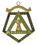 Order of the Eastern Star Grand Chapter Martha Officer Jewel RES-71