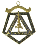 Order of the Eastern Star Grand Chapter Adah Officer Jewel RES-72