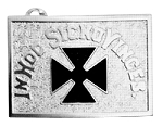 Knights Templar Teutonic Cross Belt Plate RKT-33