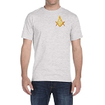 Embroidered Square & Compass T-Shirt