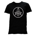 Square & Compass Circle T-Shirt