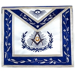 Master Mason Apron with Embroidered Border