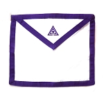 Purple Cryptic Council Duck Cotton Cloth Apron