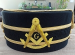 Past Master Ceremonial Hat - Size 7 5/8