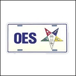 Order of the Eastern Star License Plate