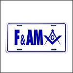 Free & Accepted Masons License Plate