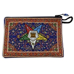 Order of the Eastern Star Coin Purse - 5 1/4