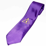 Royal and Select Master Purple Satin Tie