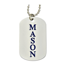 Engraved mason square compass silver dog tag pendant necklace 2 engraved mason square compass silver dog tag pendant necklace 2 tall aloadofball Images