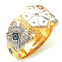 Blue Lodge Ring GLC117BL