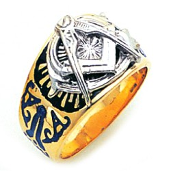 Blue Lodge Ring GLC179BL