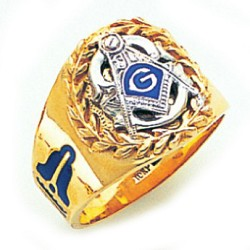 Blue Lodge Ring GLC707BL