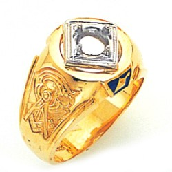 Blue Lodge Ring GLC711BL