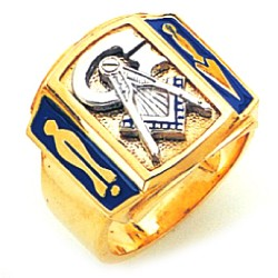 Blue Lodge Ring GLC762BL