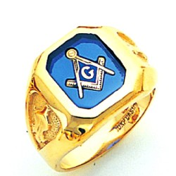 Blue Lodge Ring GLCS1155BL